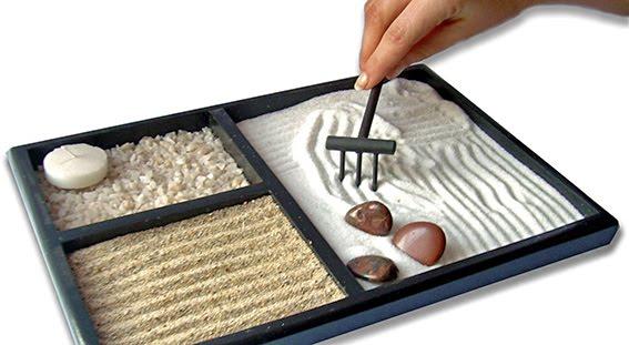 Jard n zen se debe vivir mejor - Arena jardin zen ...