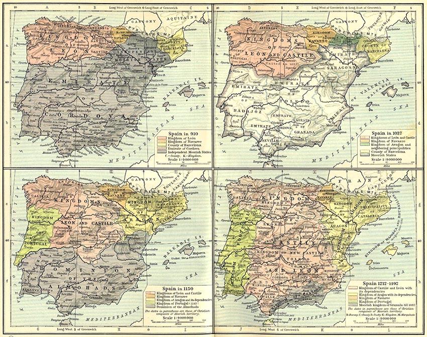 Hispania años 910 1492